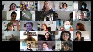 """Seminario """"Barrios Abiertos: Juntas haciendo barrio"""", capacitación metodologías participativas. Colaboración Inexsos y ACPP Extremadura"""